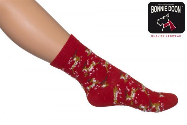 Flying Reindeer Sock