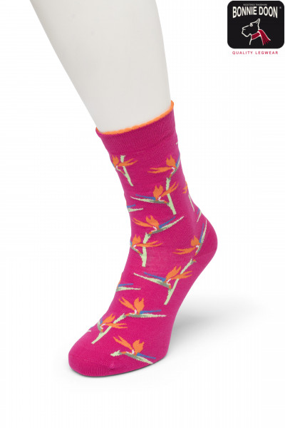 Birds of Paradise sock