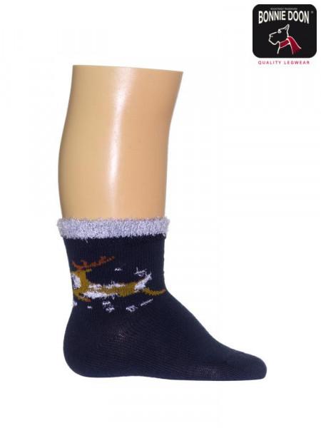 Flying Rendier Sock
