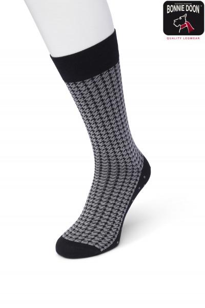Houndstooth sock