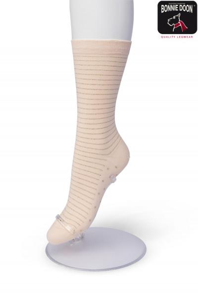 Lurex Stripe sock