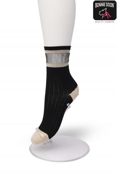 Glittering Two Stripe sock