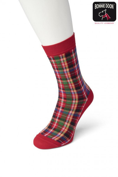 Bright Checks sock