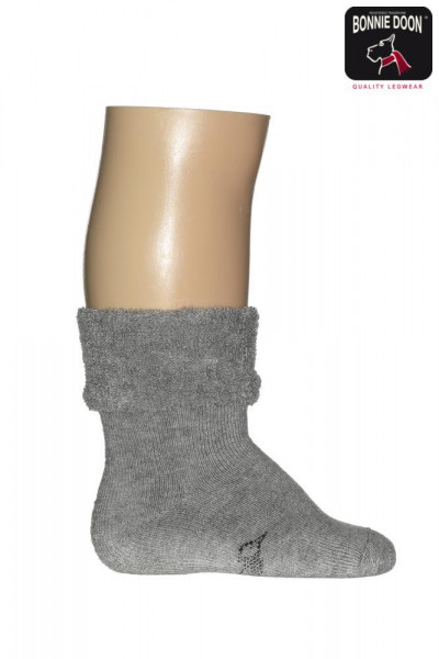 Cuffed Terry Bootie