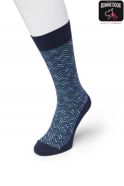 Zigzag sock