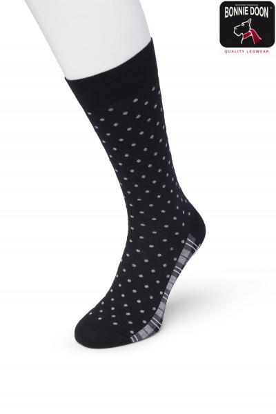 Dots & Checks sock