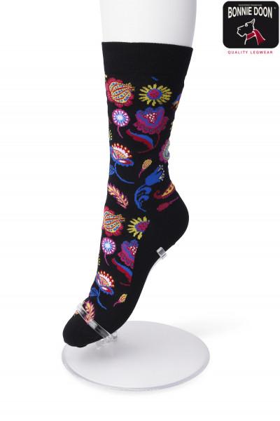 Flower Fantasy sock