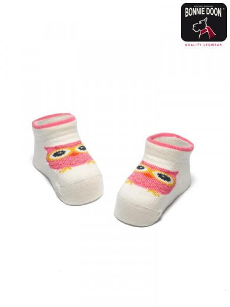 Cute Owl New Born Sock