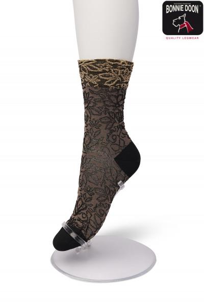 Glittering Flower sock